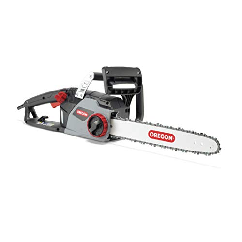OREGON CS1400 2400 W Electric Chainsaw, Powerful Electric Saw with 16-Inch (40 cm) Guide Bar DuraCut Saw Chain (612000)