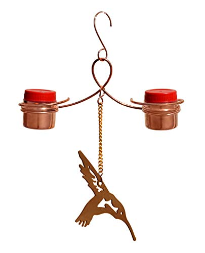 a hummingbird feeder is a delightful gift for a mom who says she doesn't want anything