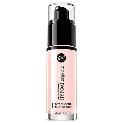 Bell HYPOallergenic - Base de maquillaje Mat & Smooth 30 g/33 ml