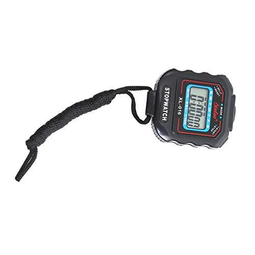 CLISPEED Cronómetro Digital Temporizador de Gran Pantalla Resistente Al Polvo Resistente Al Agua Cronómetro para Fitness Sport