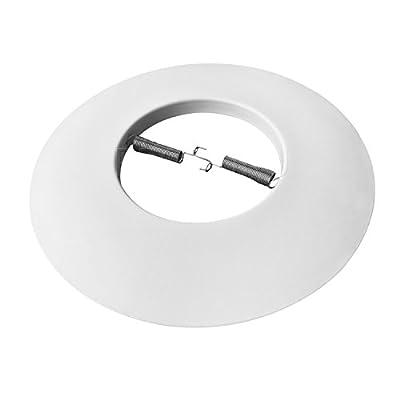 """PROCURU 6"""" Open Metal Ring Trim for Recessed Can Lights - For BR30, PAR30, LED, Incandescent, CFL, Halogen"""