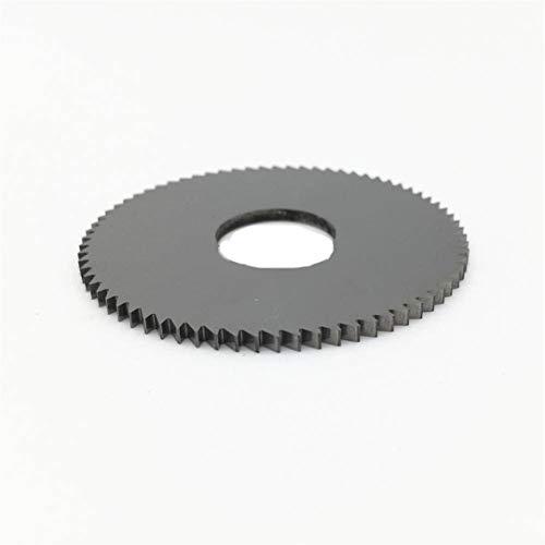 75 * 0.3-5.0Mm Stärke von 22 mm Innenbohrung 72T VHM-Sägeblatt-Fräser 75mm 22mm 0.8mm