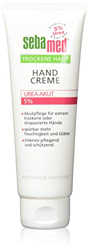 Sebamed Handcreme Trockene Haut Urea 5%, 2er Pack (2 x 75 ml)