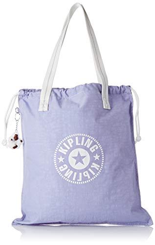 Kipling Women's Nylon Lightweight Tote Bag -Hip Hurray (Active Lilac Bl)