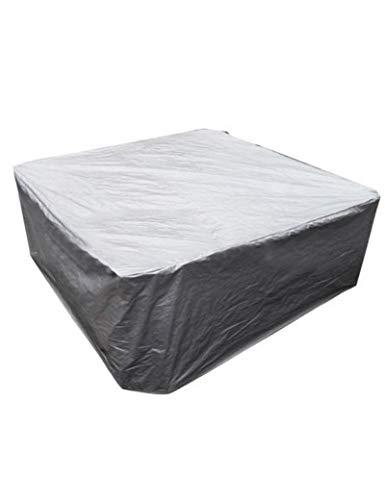 CFFEFN Piscina Impermeable A Prueba de Polvo Cubiertas cuadradas Resistente y Duradero Protector de Cubierta de bañera de Aguas Termales