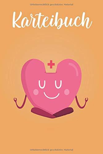 Karteibuch: Effektives Lernen mit alphabetischem Index, Notizbuch für Krankenschwetsern, Krankenpfleger, Rettungssanitäter, Medizinstudenten   DIN A5 120 Seiten