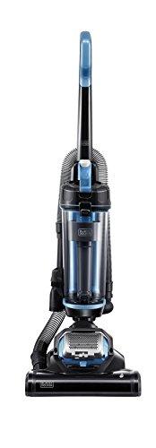Black+Decker Ultra Light Weight, Lite Black & Decker BDASL202 AIRSWIVEL Lightweight, Powerful Upright Vacuum Cleaner, Blue,