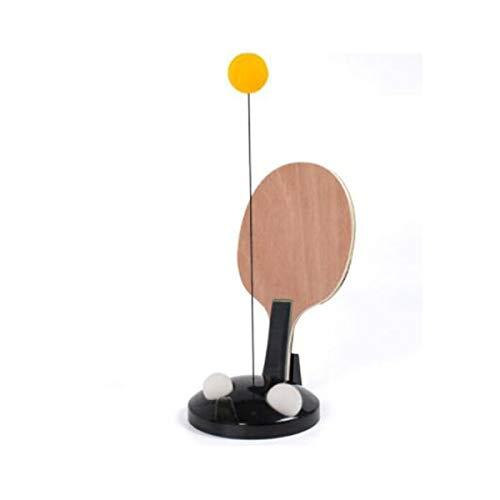 Fantastic Prices! YINJIESHANGMAO Flexible Soft Shaft Table Tennis Ball Machine, Single Table Tennis ...