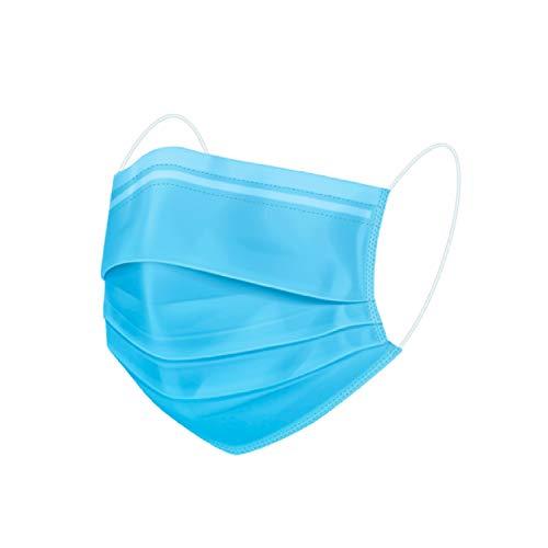 interstuhl Maske medizinisch 50 Stück Typ II R – zertifizierte Premium-Atemschutzmaske made in Germany – Schützt auch vor Flüssigkeitsspritzer - perfekt für Brillenträger