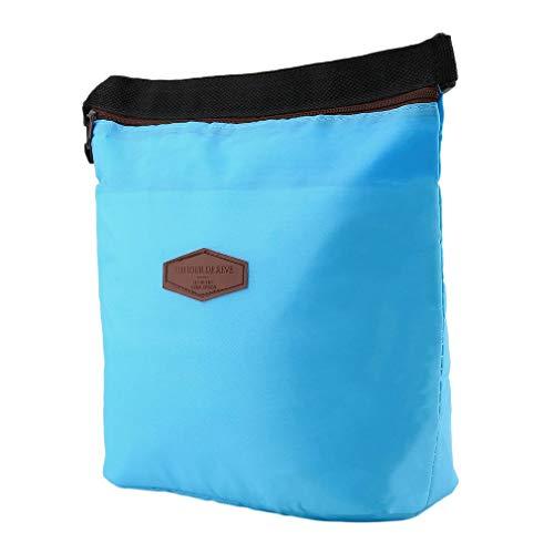 1 St Rits Geïsoleerde Thermische Zak Isolatie Bento Picknick Lunch Zak Fast Food Box Handige Koeler Warmhouden populair Wereldwijd salesky blauw