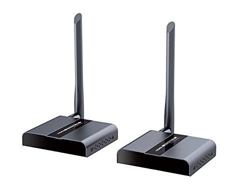 Techly IDATA HDMI-WL40E AV transmitter & receiver zwart - audio-/video-versterker