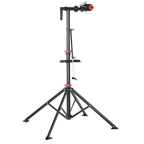 SONGMICS Quick Release Bike Repair Stand with Solid Welded Head USBR05B