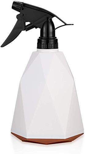 Doinh Botella pulverizadora de plástico con pulverizador para agua, agua vacía, maceta de jardín para limpieza, jardinería, peluquería, plantas, flores, 600 ml