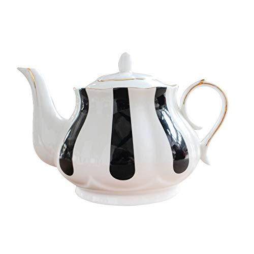 Moka Pot, MMKICC Inglés Juego de té de la tarde Teteras Hueso...
