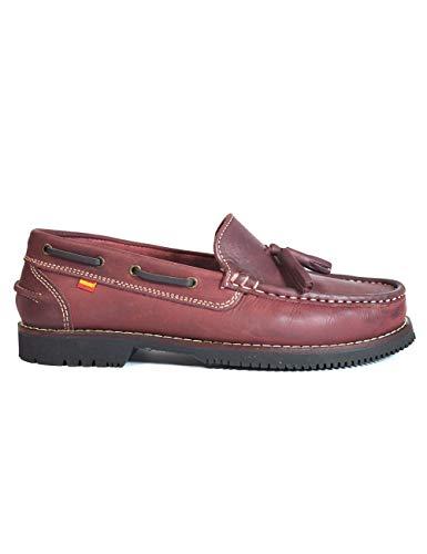 baratos y buenos Zapato marino tipo Apache Unisex La Valenciana Montijo Bordeaux – Color – Bordeaux, Talla – 42 calidad