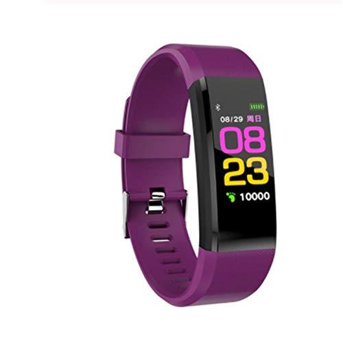Pulsera de Actividad pantalla a color de 1,1 'más reciente,Fitness Tracker a prueba de agua,monitorización del ritmo cardíaco las24 horas,con contador de pasos/monitor de sueño/seguimiento de calorías