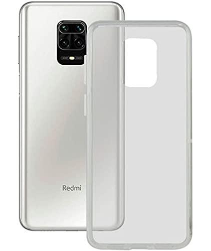 Ksix S1904598 Funda para Móvil Xiaomi Redmi Note 9 Pro Flex TPU