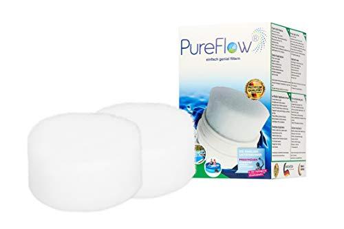 PureFlow Cartridge 3D Filterkartusche PFC-013.010.02 für Whirlpool - Jaccuzi - Aufstellpool, Poolfilter für Kartuschenfilter - Ersetzt BESTWAY Gr.2 Gr.II Modell 58094