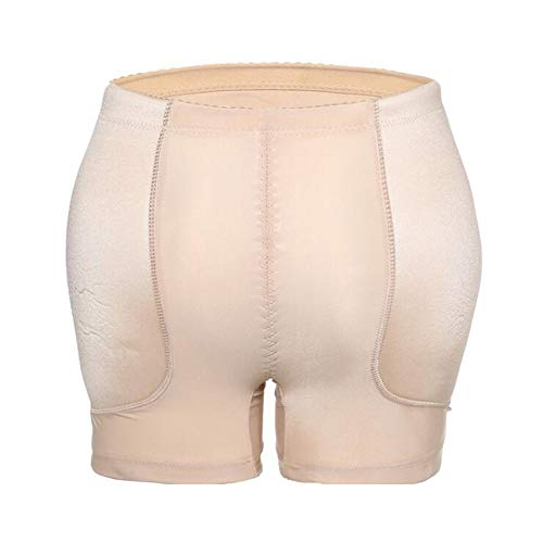 ZZBB Low Waist Vrouwen Hip Enhancer Nylon Fake Ass No Trace Hips/Increase Crotch ademende Body Control Knickers