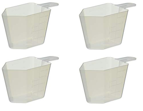 Bonide 912018 037321000 1 0 4-Ounce Measuring Cup, White, Sold as 4 Pack