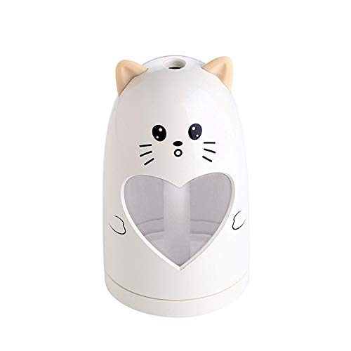 Vcenty Humidifier Cute Animal LED Humidifier Air Diffuser Purifier Atomizer Cleaner Air Filter Home Best Air for Allergies and Pets True HEPA Filter