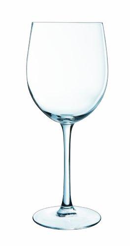 Luminarc Versailles - Set de 6 copas tulipán, Transparente, 58 cl