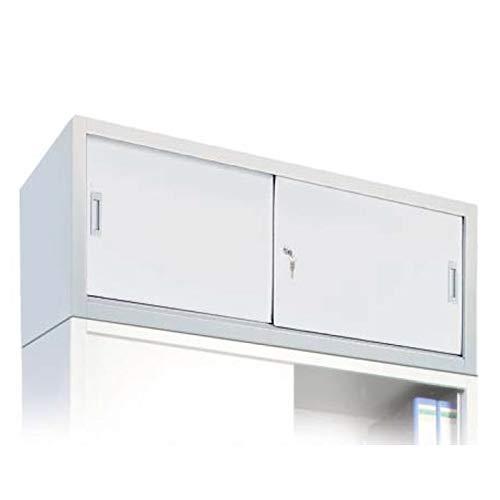 BULTO Aufsatzschrank für Werkzeugschränke, Stahl, Schiebetüren, BxTxH 1.200 x 450 x 400 mm