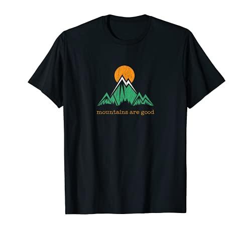 Montaña Vintage Trail Running Camiseta