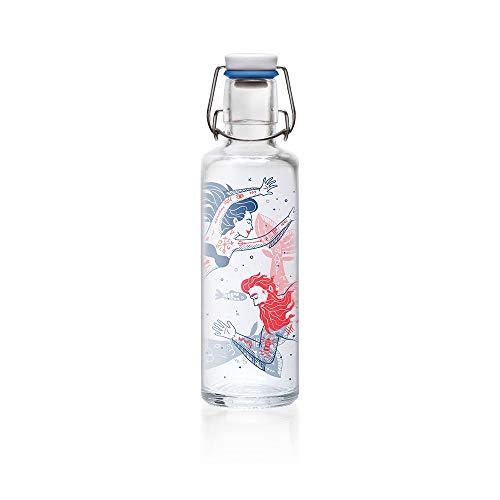 soulbottles Unisex– Erwachsene Trinkflasche, Meermenschen, 600 ml