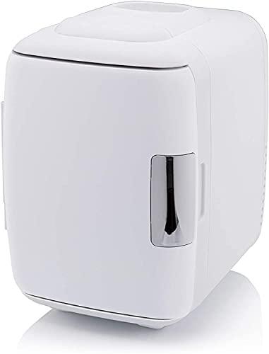 Mini Nevera 4L Con Asa, Portátil Nevera, Mini Refrigerador 12V Para Enfriar Y Calentar, Frigorífico Termoeléctrico Pequeño Para Alimentos, Bebidas, Cuidado De La Piel, Bajo Nivel De Ruido, 12V