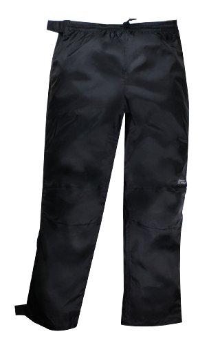 Red Ledge Unisex Adult Thunderlight Full-Zip Pant Full Side Zip Rain Pant,Black,X-Large