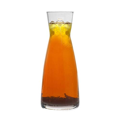 Bormioli Rocco Ypsilon - Wasserkaraffe aus Glas - 1080 ml