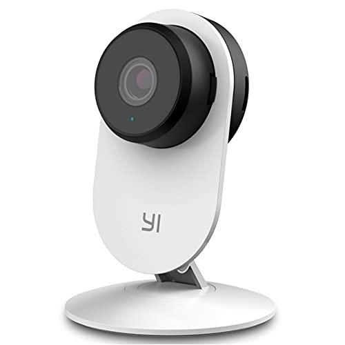 Yi Home 3 Camera WiFi 1080p Camara Bebe Alexa Cámara Vigilancia IP CAM Interior 2.4G Sensor de Movimiento Inteligencia Artificial Detección Humana Análisis de Sonido Sistema Seguridad para Perros