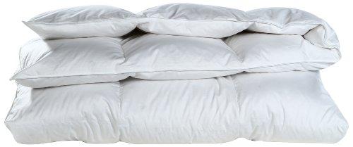 Cloud Nine Comforts Super Nova Hungarian White Goose Down Comforter, Twin