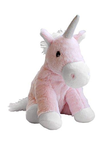 """Warmies® Wärmekissen/Stofftier\""""Minis Einhorn rosa,weiß\"""" herausnehmbare Hirse Lavendelfüllung 20cm 280g"""