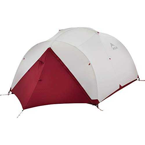 MSR Mutha Hubba NX 3-Person Lightweight Backpacking Tent with Xtreme Waterproof Coating