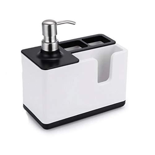 Multifunctionele Vloeibare Zeep Dispenser & Opbergdoos Organizer Tandpasta Tandenborstel Dispenser Badkamer Accessoires