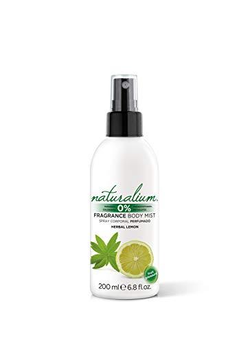 Naturalium Spray Corporal Limón - Body Mist Perfumado Refrescante, Sin Parabenos, Sin Colorantes, 200 ml