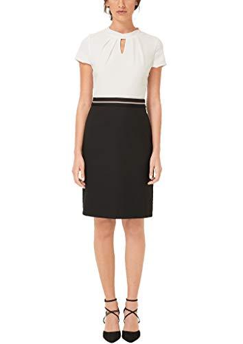 s.Oliver BLACK LABEL Damen 01.899.82.5575 Kleid, Schwarz (Forever Black 9999), (Herstellergröße: 46)