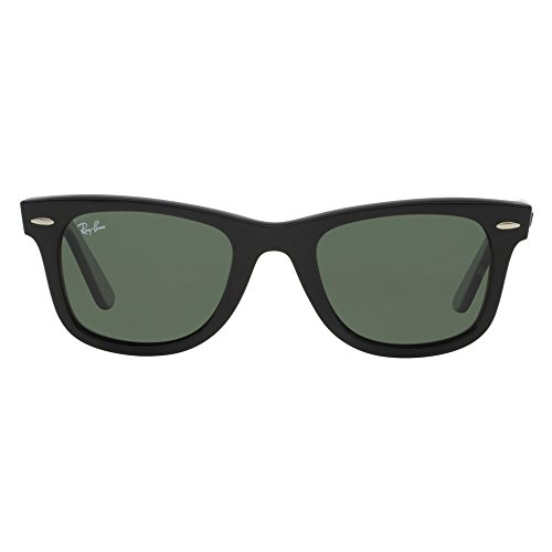 Ray Ban Original Wayfarer (RB2140) Black/Crystal Green Polarized Sunglasses (RB2140-901-58-47-22-145)