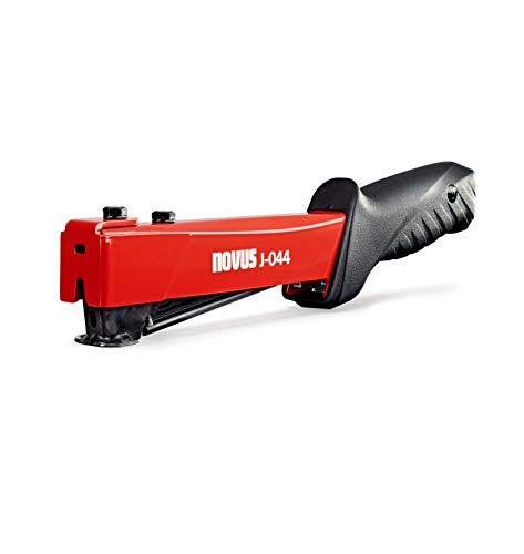 Novus J-044 - Grapadora de martillo profesional (carga rápida, mango antideslizante, máx....