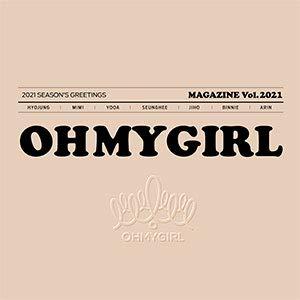 OH MY GIRL (オーマイガール) 2021 シーズングリーティング (卓上用カレンダー+ダイアリー+アコーディオンカレンダー+フォトカード+ポスターカレンダー+マスキングテープ+メーキングDVD) Kstargate限定