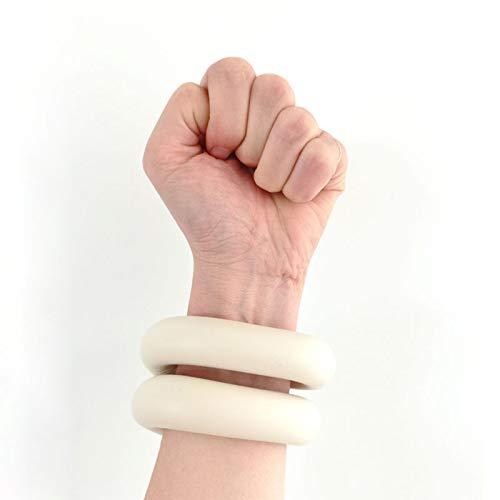 WANXJM Ensembles De Poids De Poignet Bracelet De Poids Portable Intensifie Le Poignet D entraînement De Remise en Forme, pour La Marche De Remise en Forme, pour Les Femmes,Beige