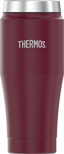 Thermos 16 Ounce Stainless Steel Travel Tumbler Merlot