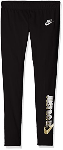 Nike Mädchen Sportswear Favorite Just Do It. Legging, Black, XS