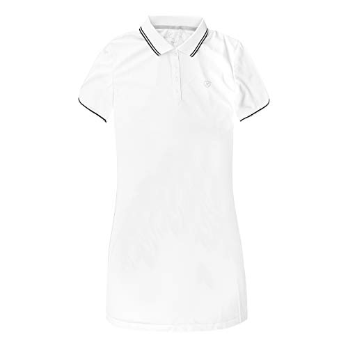 Limited Sports dames sports, Paula Polo jurk wit, 46 bovenkleding