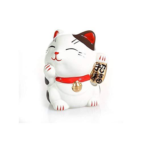 Gato japonés portaobjetos Bonheur Maneki Neko – Regalo japonés