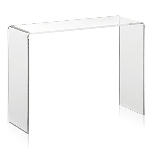VITAdisplays Warenträger als Deko-Brücke/Schuh-Display aus original PLEXIGLAS (20x7x15cm) Präsentationsdisplay/Verkaufsständer aus Acrylglas