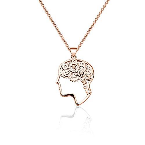Therapist Brain Necklace