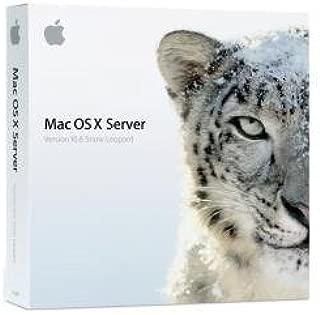 Mac OS X Server v10.6.3 Snow Leopard - Unlimited Client License